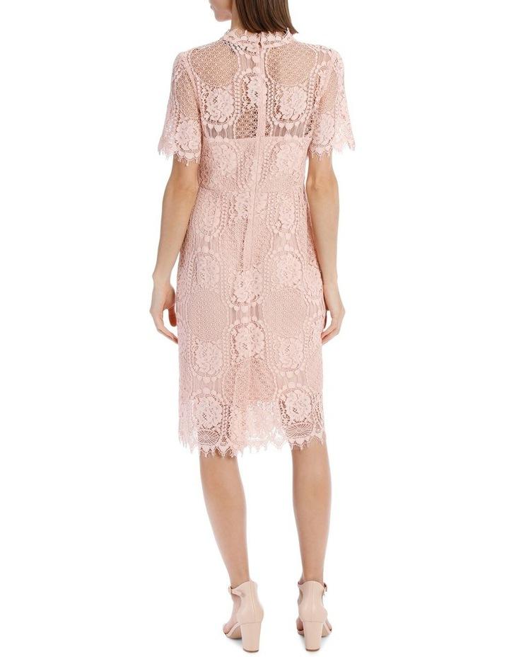 Jayson Brunsdon Black Label Pink Circular Lace Dress Myer