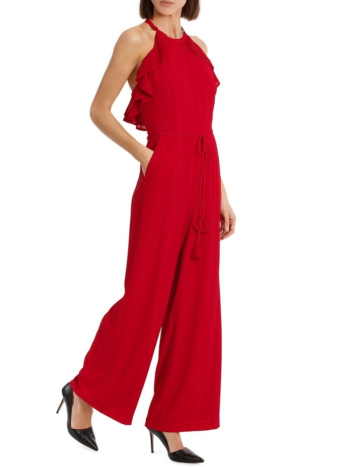 Diored Ruffle Detail Jumpsuit image 1