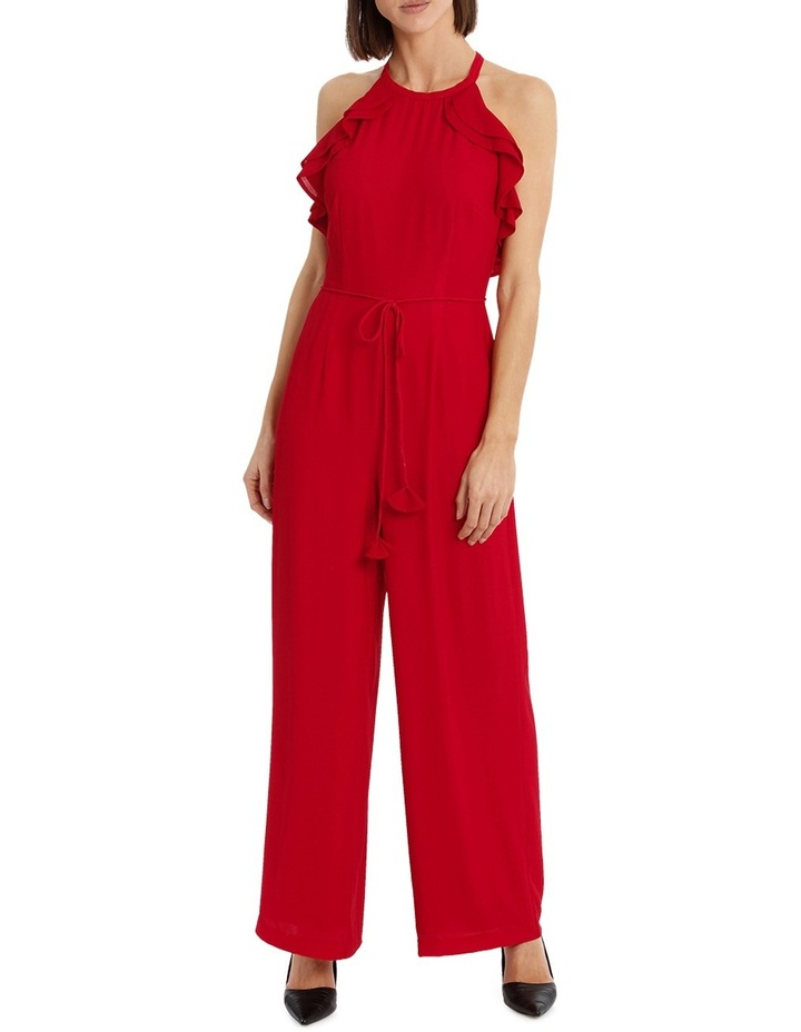 Diored Ruffle Detail Jumpsuit image 2