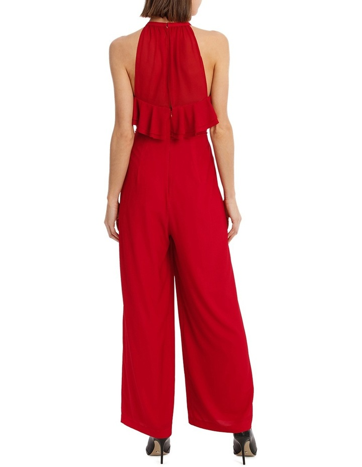 Diored Ruffle Detail Jumpsuit image 3