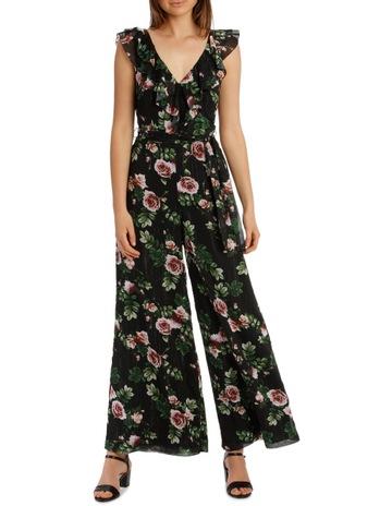 d6063d6f45cb Jayson Brunsdon Black Label Pink Rose Lurex Jumpsuit