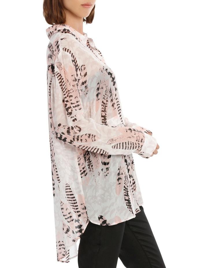 Feather Bushel Oversize Long Sleeve Top image 2