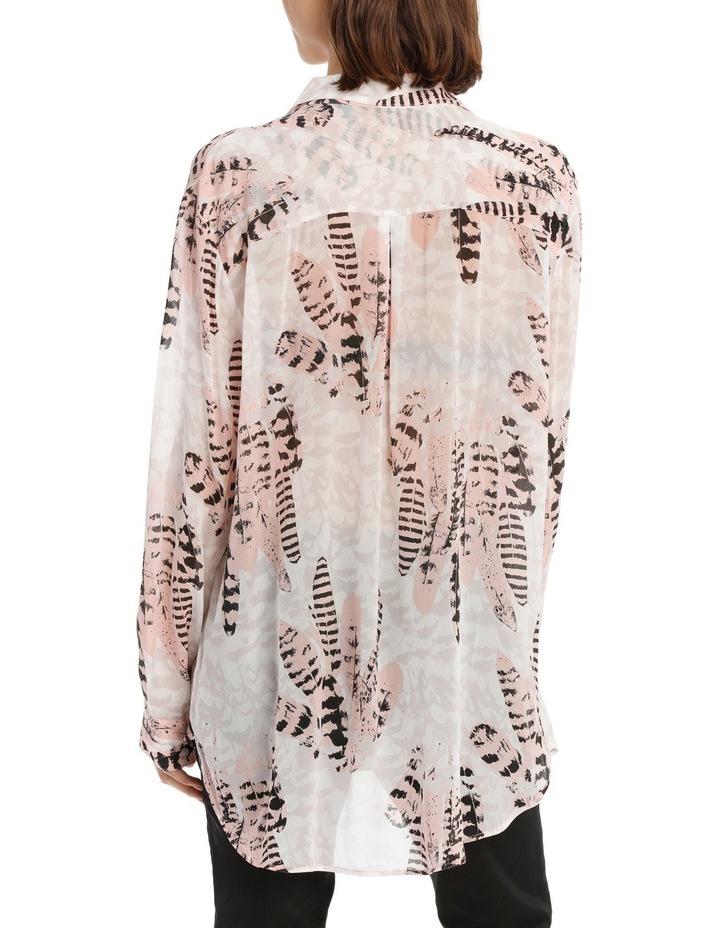 Feather Bushel Oversize Long Sleeve Top image 3
