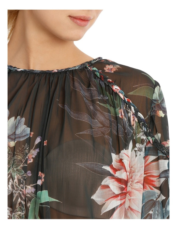 Braid Bamboo Floral Top image 4