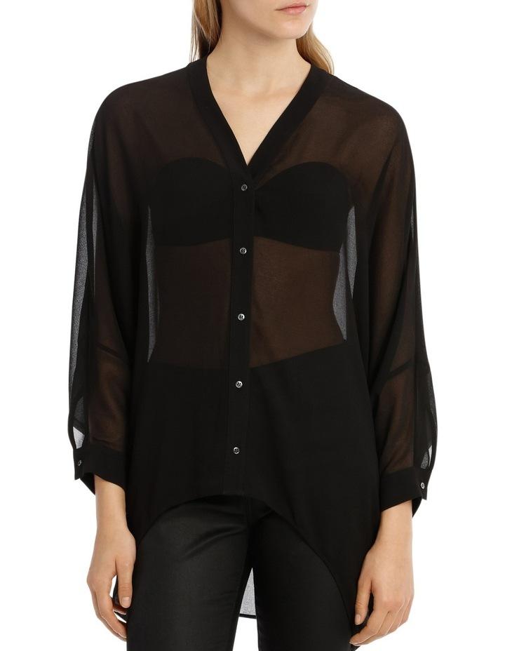 Black Batwing Shirt image 1