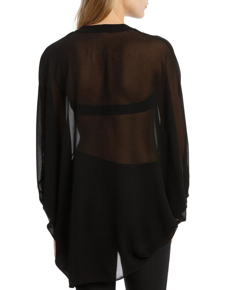 Black Batwing Shirt image 3