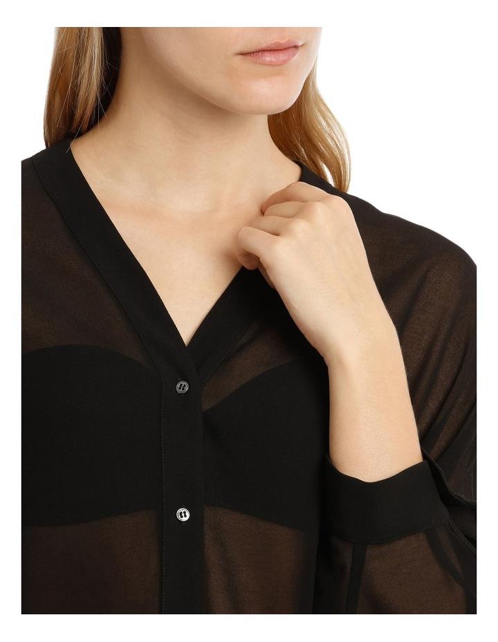 Black Batwing Shirt image 4