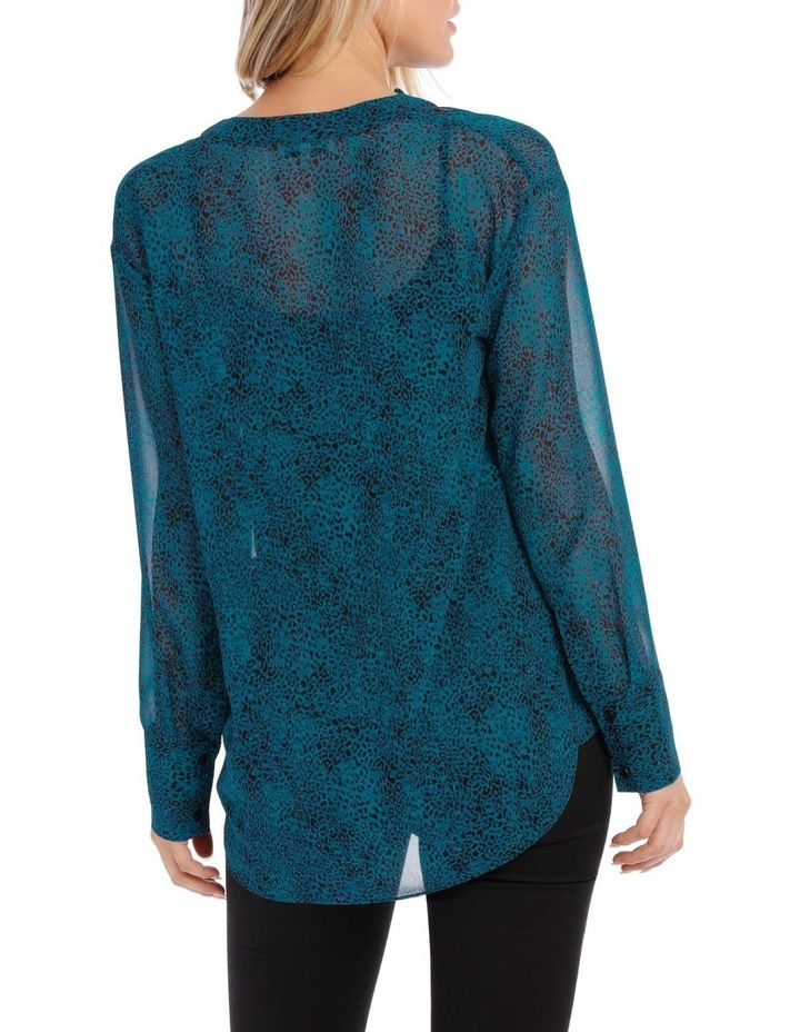 Peacock Pop Animal Shirt image 3