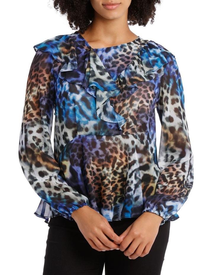 Kaleidoscope Leopard Top image 1
