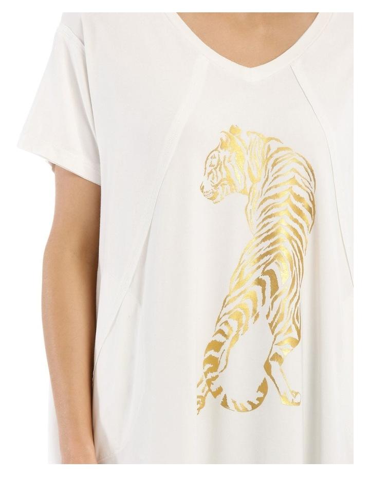 V-Neck Animal T Shirt image 4