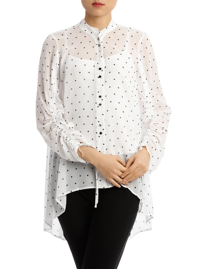Spot Rouched Shirt image 1