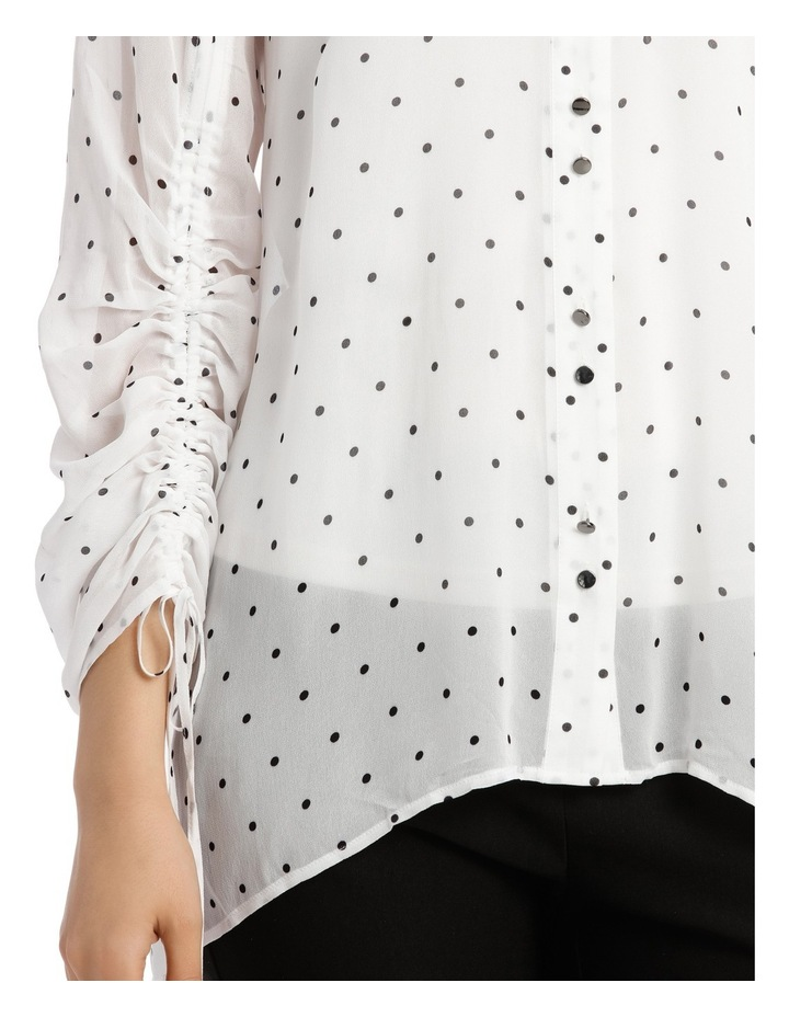 Spot Rouched Shirt image 4