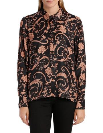 Wayne Cooper Sandstone Baroque Print Shirt 5798e230f