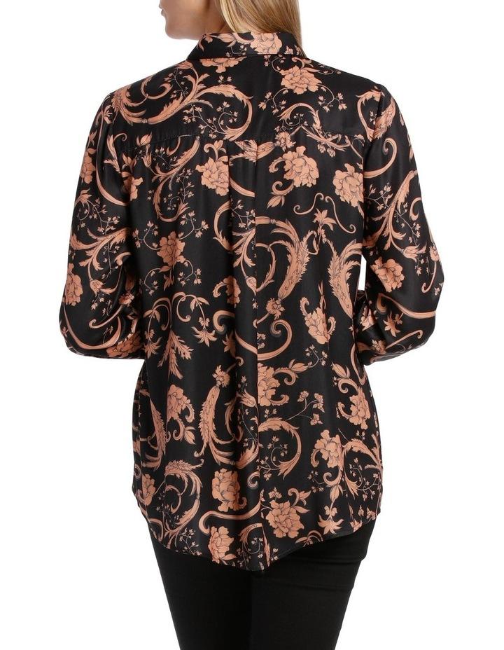 Sandstone Baroque Print Shirt image 3