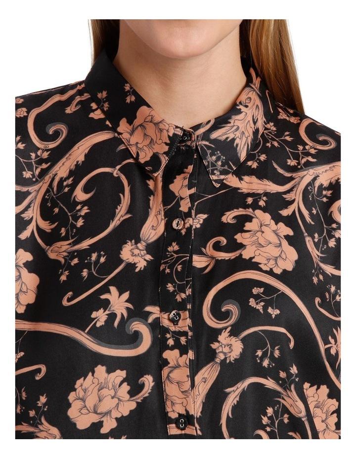 Sandstone Baroque Print Shirt image 4