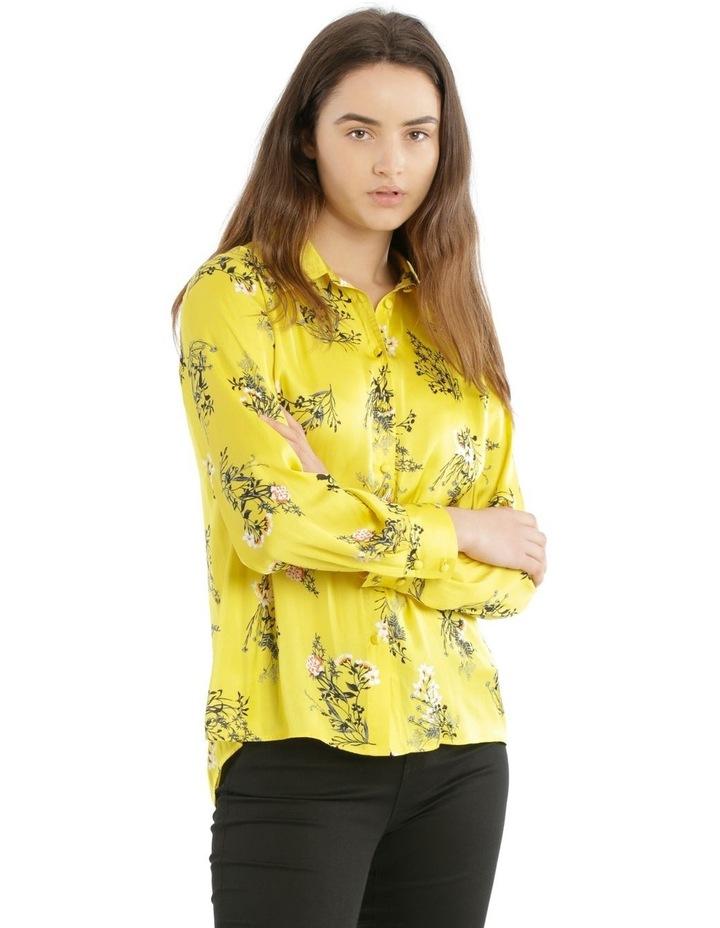Hi-Low Print Shirt image 1