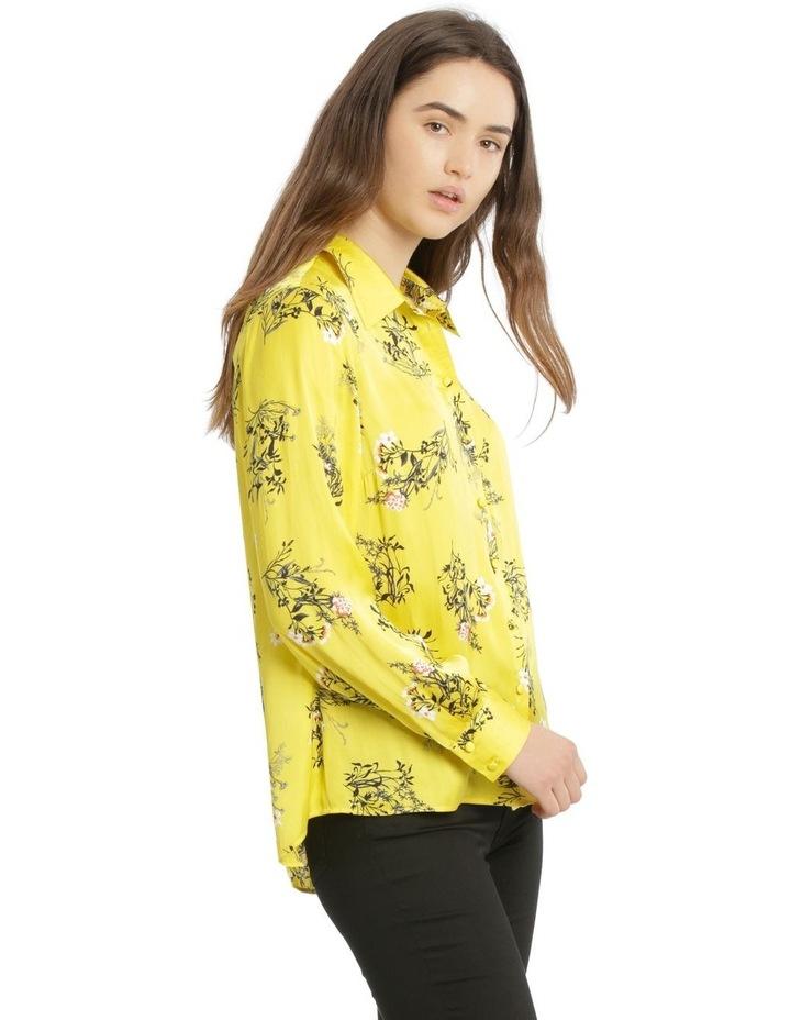 Hi-Low Print Shirt image 2