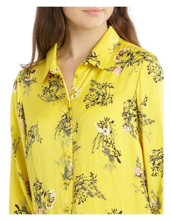 Hi-Low Print Shirt image 4