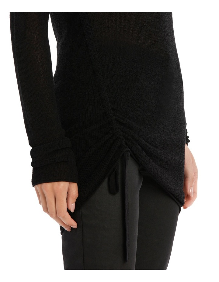 Longline Knit With Tie Detail image 4