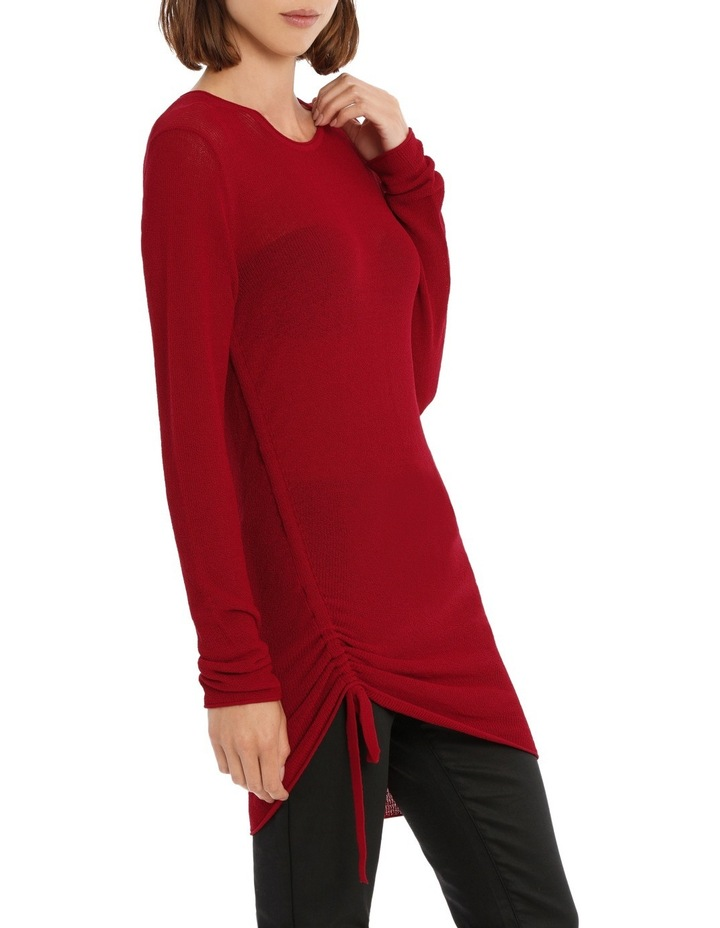 Longline Knit With Tie Detail image 2