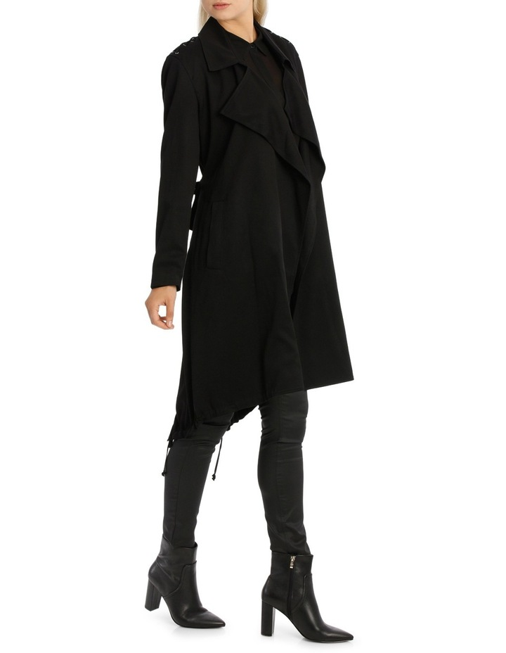 Assymetric Hem Trench Coat image 2