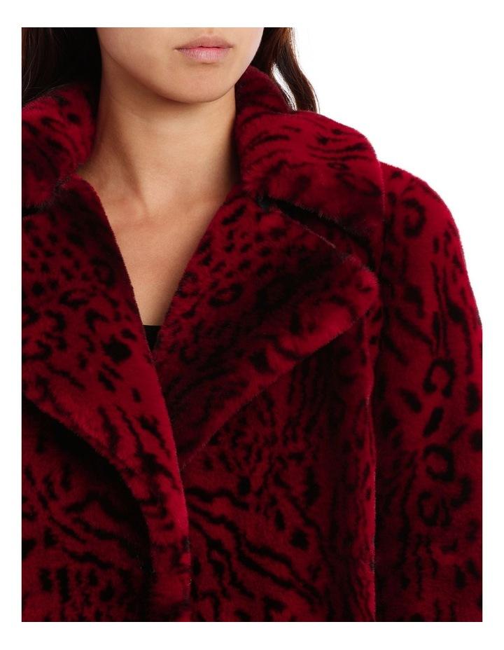 Red Leopard Jacket image 4