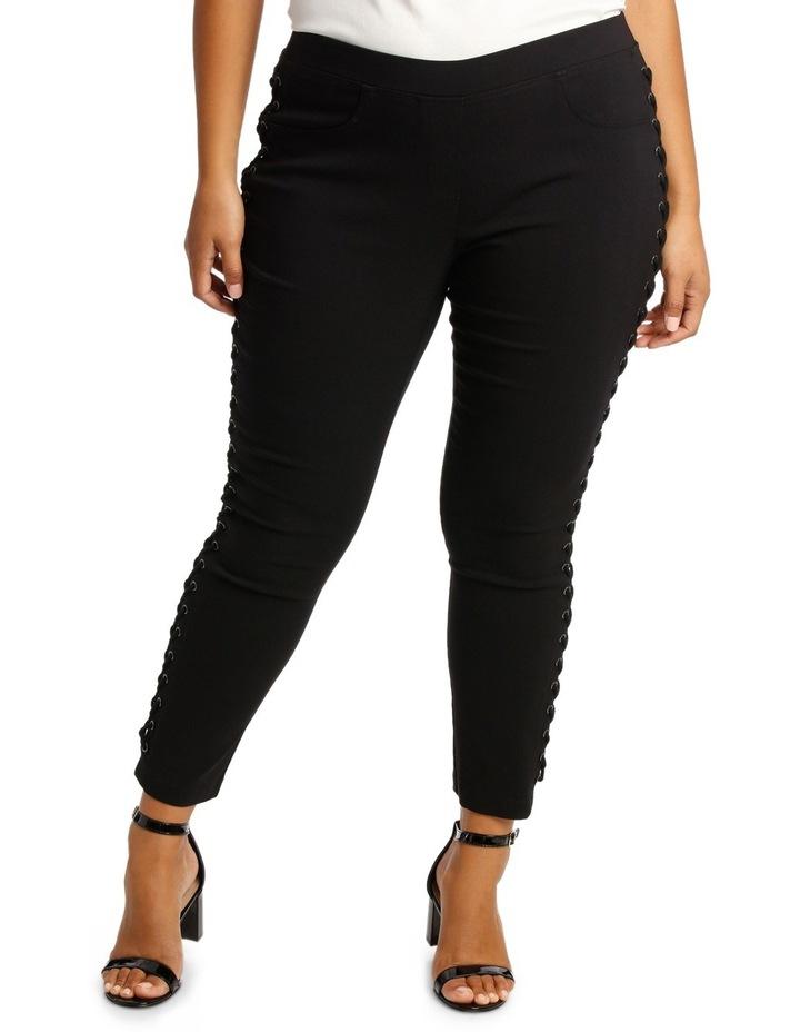 Lace Up Bengaline Pants image 1