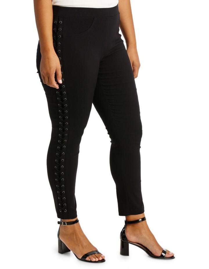 Lace Up Bengaline Pants image 2