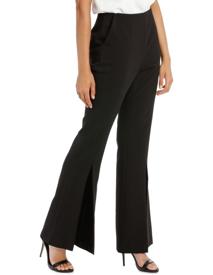 Split Front Flare Pant image 1