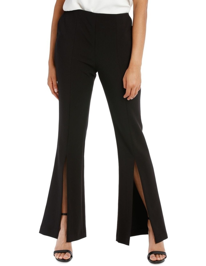 Split Front Flare Pant image 2