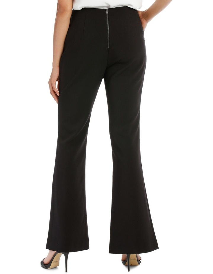 Split Front Flare Pant image 3