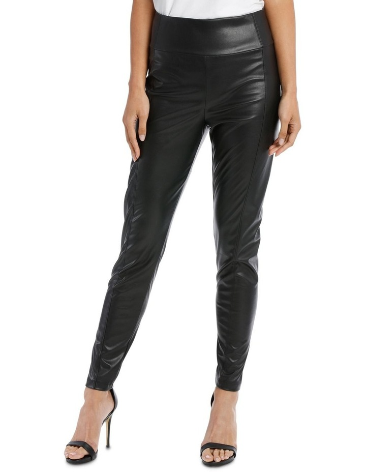 Stretch Pleather Pant image 1
