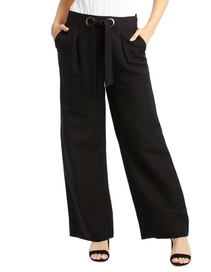 Wide Leg Pant With Eyelets image 1