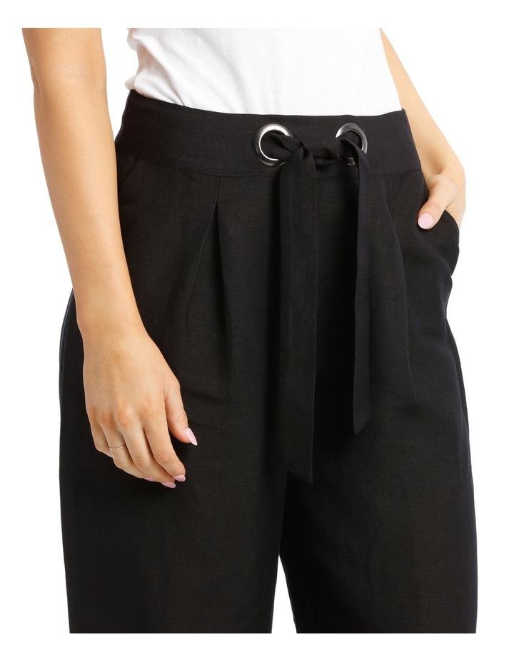 Wide Leg Pant With Eyelets image 4