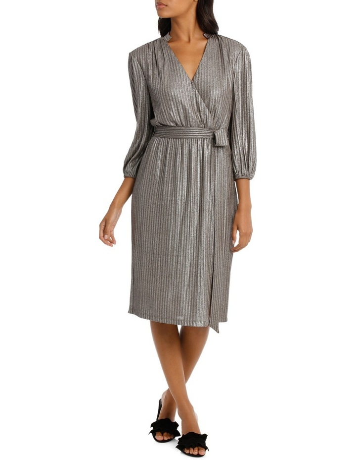 Silver Lurex Dress image 1