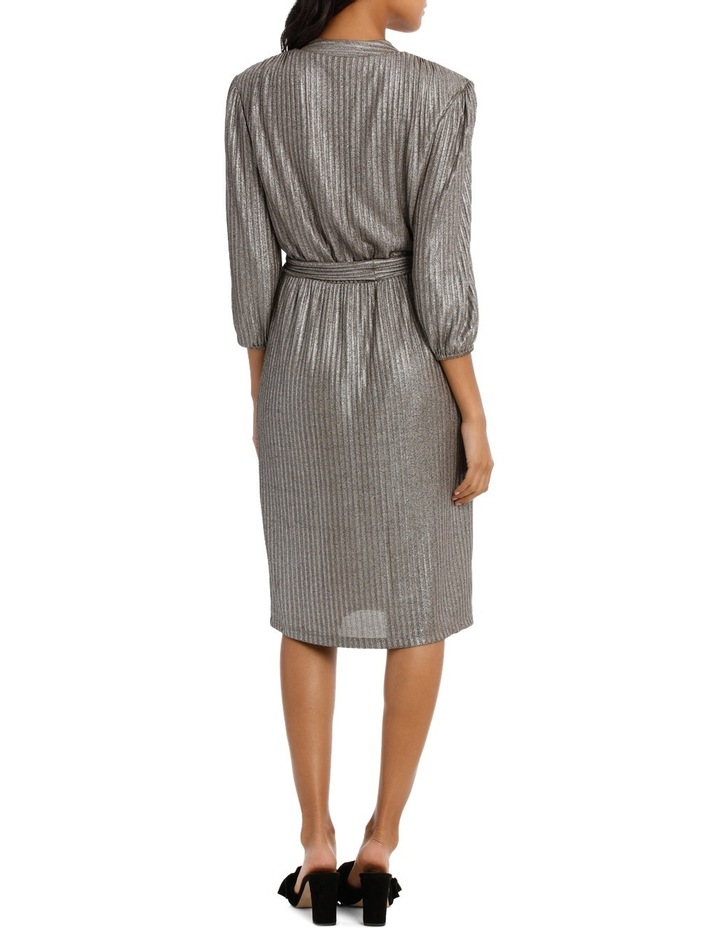 Silver Lurex Dress image 3