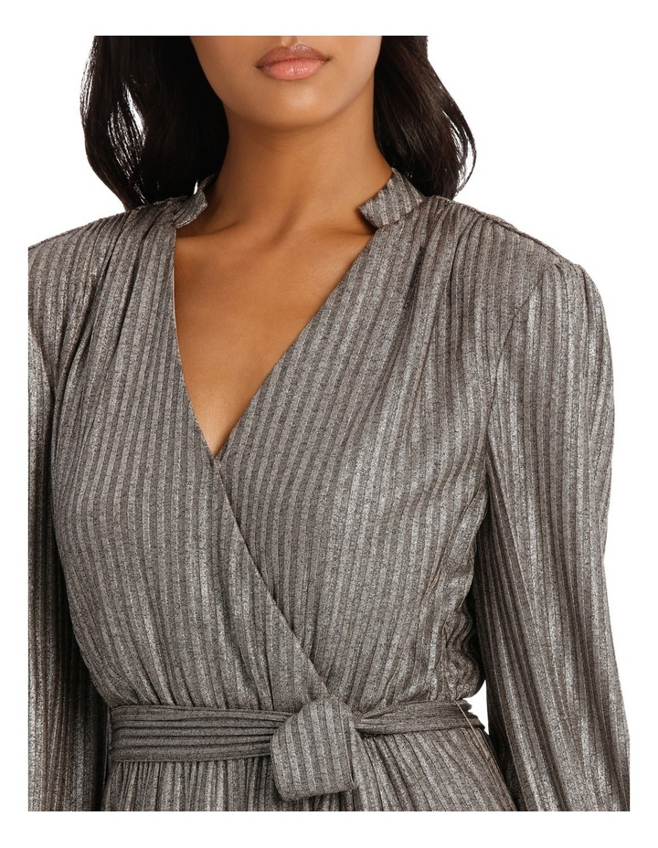 Silver Lurex Dress image 4