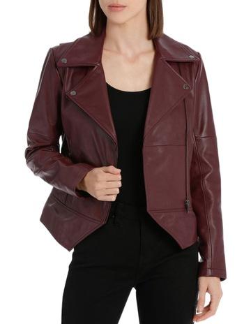 04d312453765a Wayne Cooper Bordeux Leather Jacket
