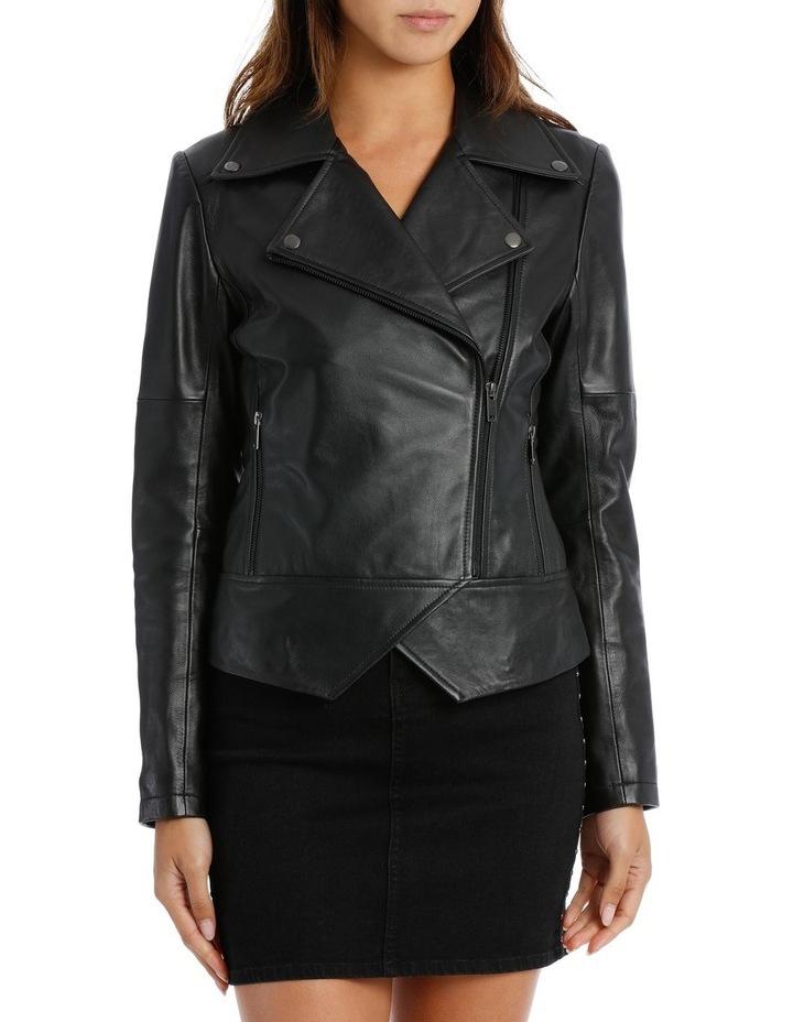 Black Leather Jacket image 1