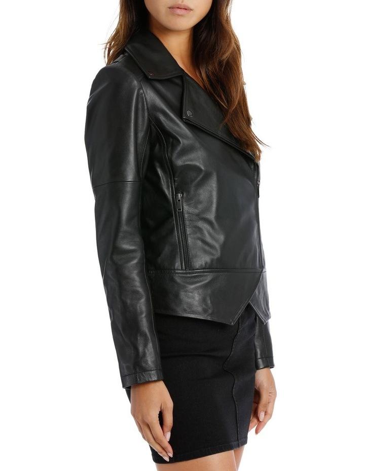 Black Leather Jacket image 2
