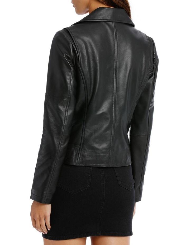 Black Leather Jacket image 3