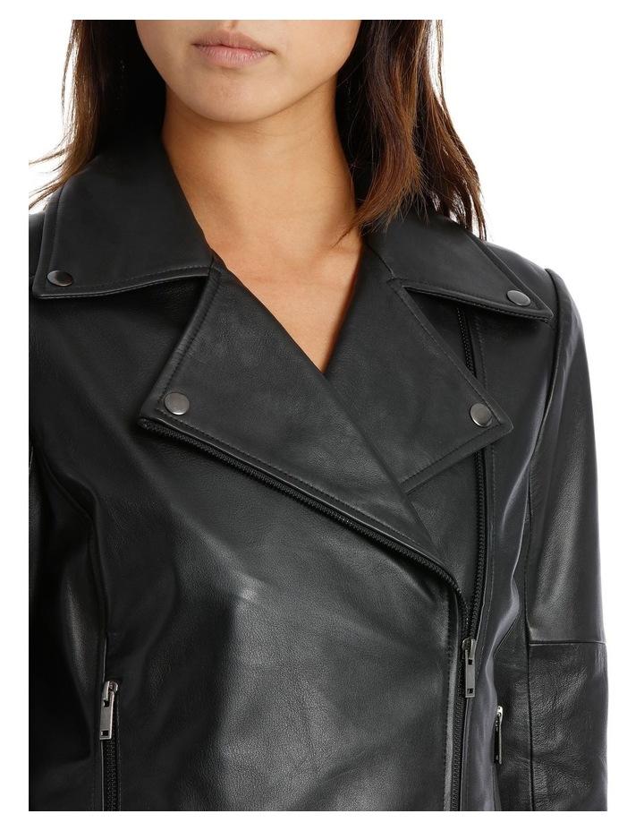 Black Leather Jacket image 4