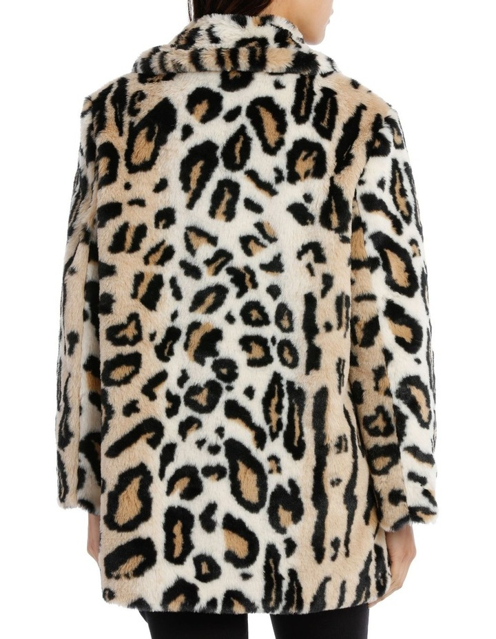 Double Breasted Animal Coat image 3