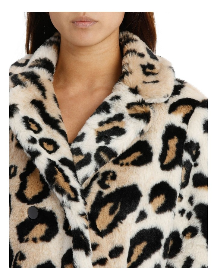 Double Breasted Animal Coat image 4