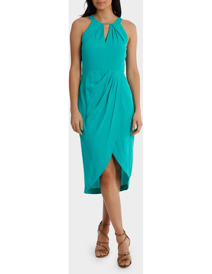 Jagger Halter Mermaid Solid Dress image 1
