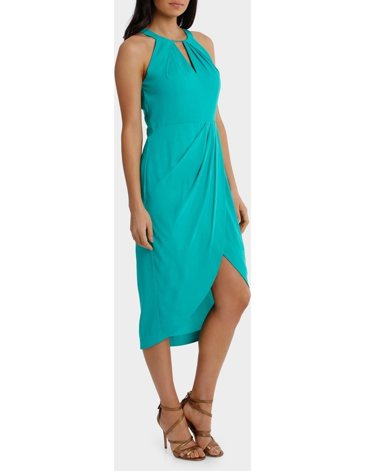 Jagger Halter Mermaid Solid Dress image 2