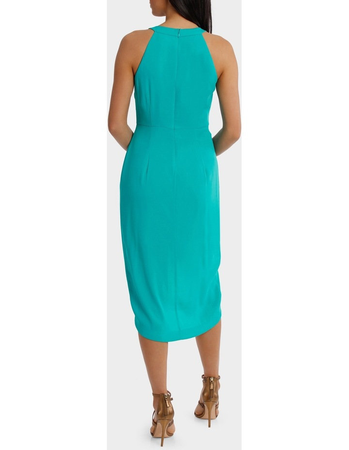 Jagger Halter Mermaid Solid Dress image 3