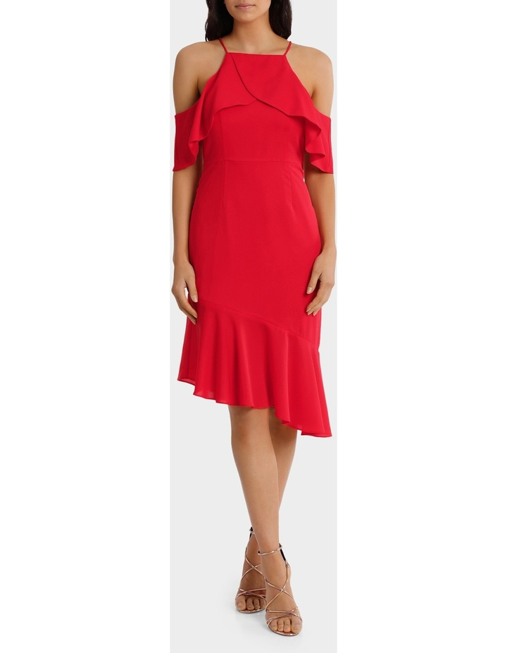 Zeplan Halter Dress With Frill image 1