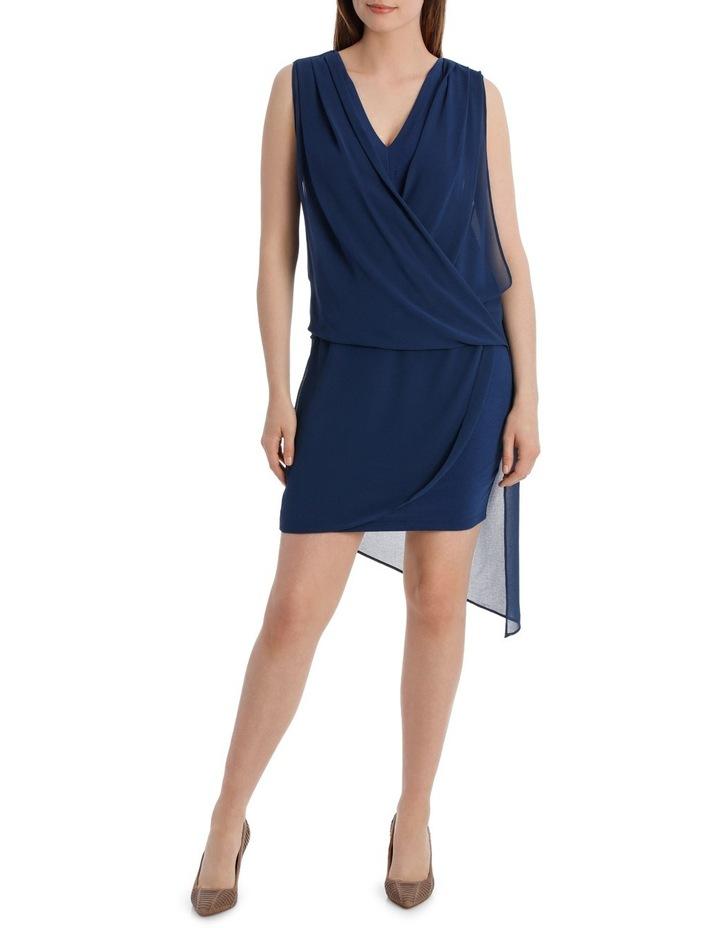 Monarco Drape Overlay Dress image 1
