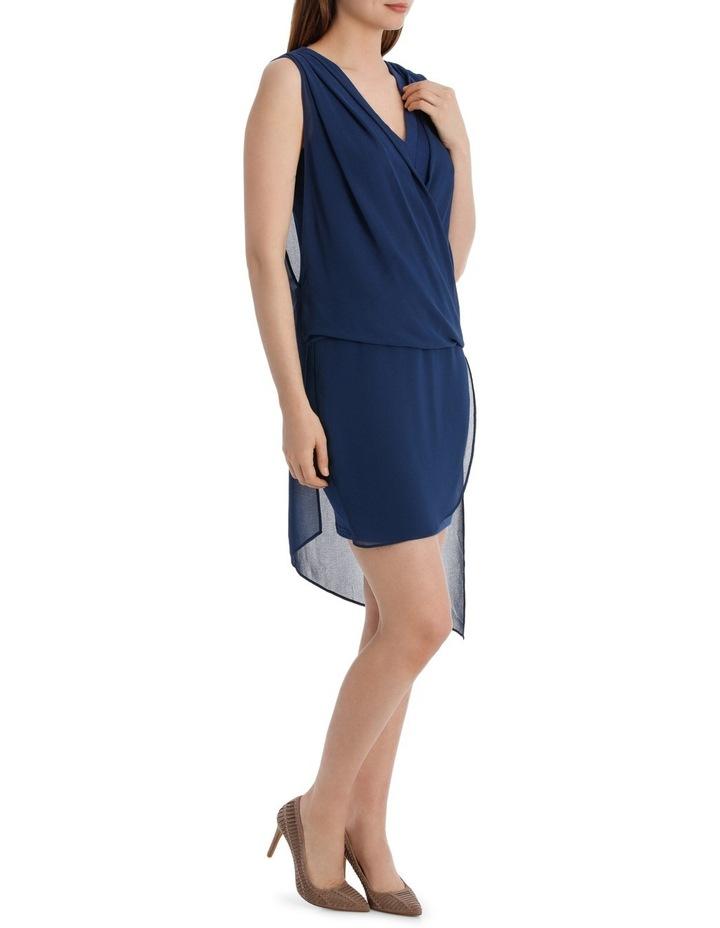 Monarco Drape Overlay Dress image 2